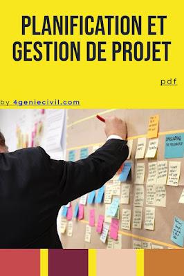 Master planification et gestion de projet