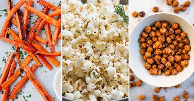 Top 10 Salty Healthy Snacks