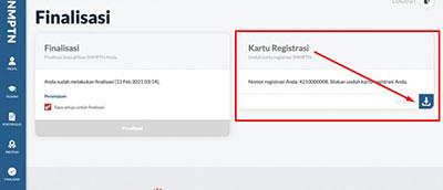 Cara Mengunduh Kartu Registrasi SNMPT 2021