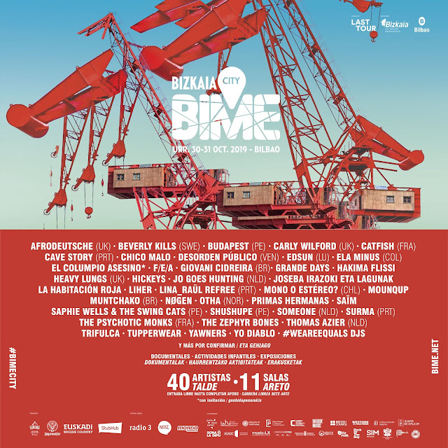 bime, city, bilbao, conciertos, gratis, 2019, columpio, asesino, habitacion, roja
