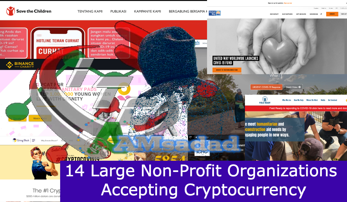 how can non profits accept cryptocurrency