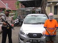 Pelaku penggelapan mobil di tangkap Polres Ponorogo