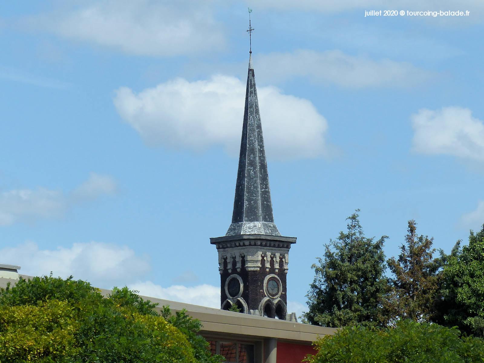 Clocher de l'Église Saint-Gérard, Wattrelos 2020