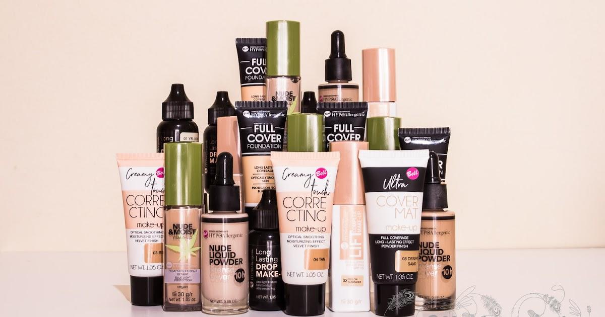 My Cosmetic Art Las Bases De Maquillaje De Bell Y Bell Hypoallergenic