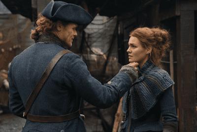 Jamie Fraser por fin se encuentra con su hija, Brianna, en Outlander