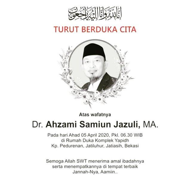 KH Dr. Ahzami Samiun Jazuli MA-IGmasjidagungsundakelapa