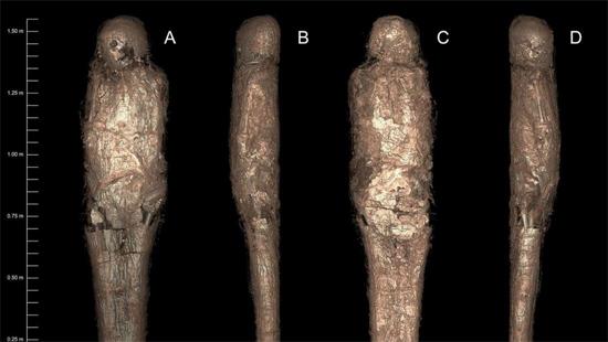 Múmia 'Enlameada' rara Img 1