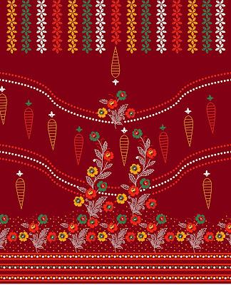 Lavanya-Geometric-Textile-Kaftan 84