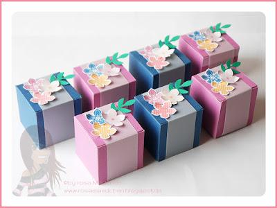Stampin' Up! rosa Mädchen Kulmbach: Swaps fürs Teamtreffen mit Petit Petals in In Colors und Zweig aus Vogelstanze