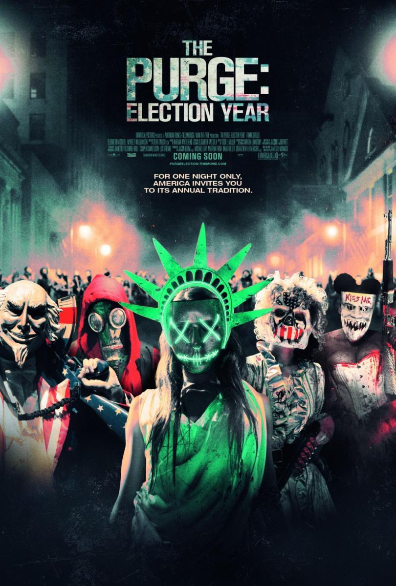 Download The Purge Election Year (2016) Full Movie in Hindi Dual Audio BluRay 720p [900MB]