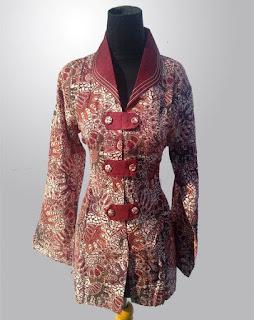 Gambar Model Baju Batik Buat Guru