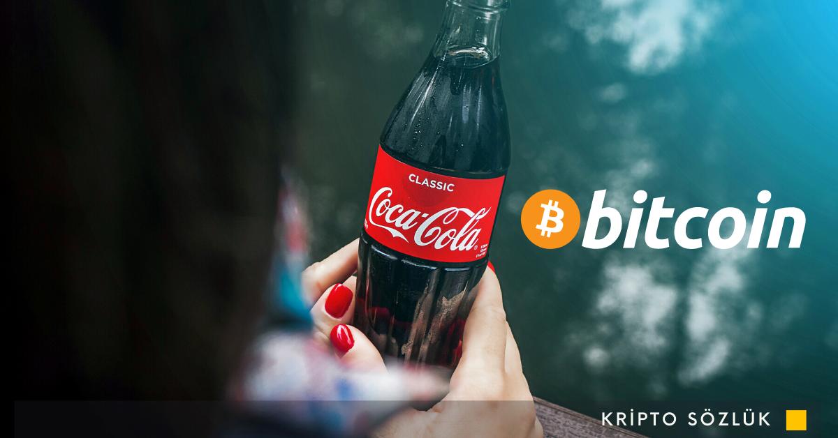 Otomatlardan Bitcoin ile Coca Cola Satın Almak mı?