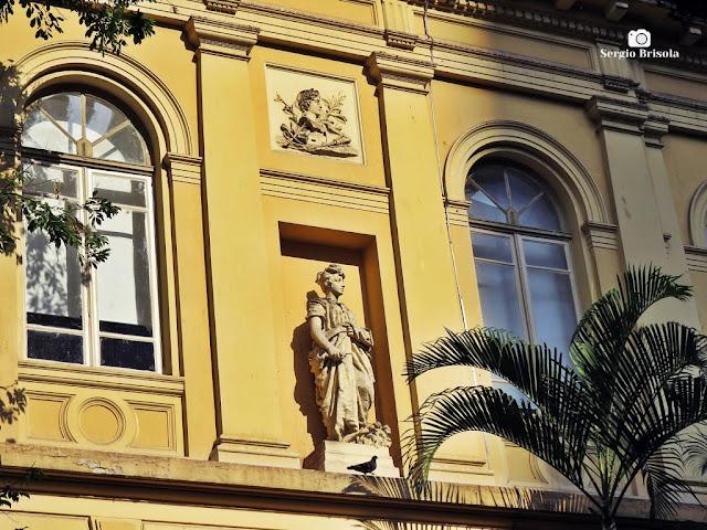 Vista da Fachada lateral da Casa Caetano de Campos - República - São Paulo