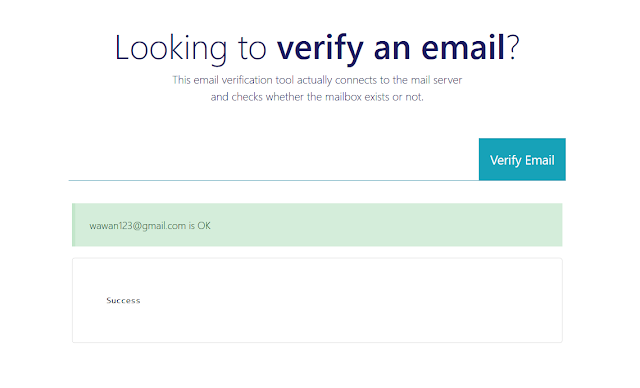 email yang valid