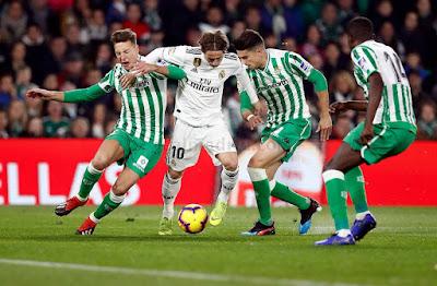مشاهدة مباراة ريال مدريد وريال بيتيس بث مباشر اليوم 02-11-2019 في الدوري الاسباني