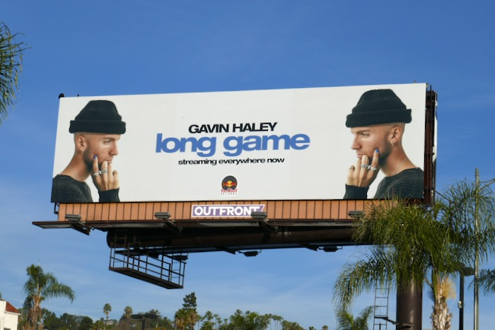 Gavin Haley Long game billboard