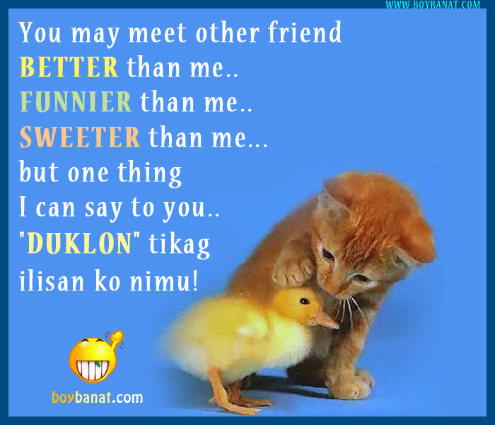 Visayan Friendship Quotes and Cebuano Visayan Text Messages SMS