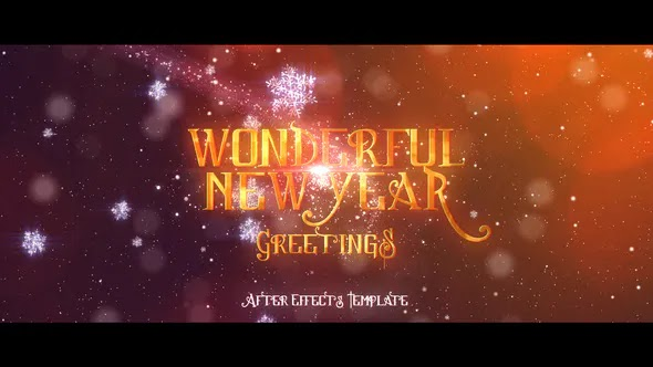 Videohive - Wonderful New Year's Greetings 18708907