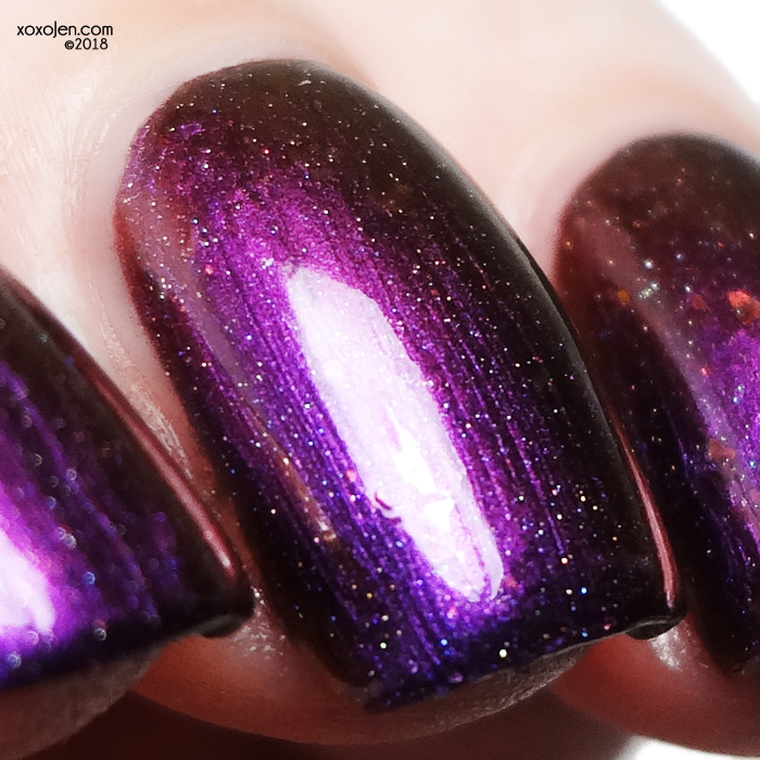xoxoJen's swatch of Smokey Mountain Evil Twin