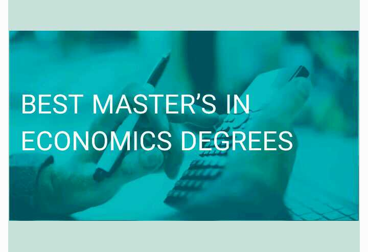 masters in economics online
