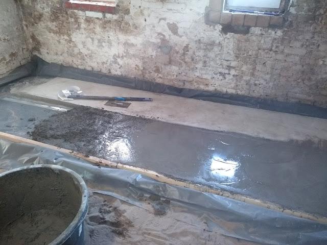 Kellerboden betonieren