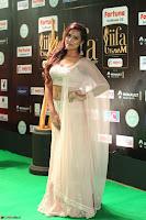 Prajna Actress in backless Cream Choli and transparent saree at IIFA Utsavam Awards 2017 0124.JPG