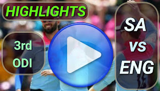 SA vs ENG 3rd ODI 2020