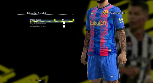 FC Barcelona Home (Champions League) 2021-2022 Kits For PES 2013