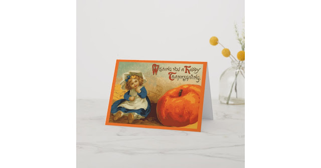 easy thanksgiving day card