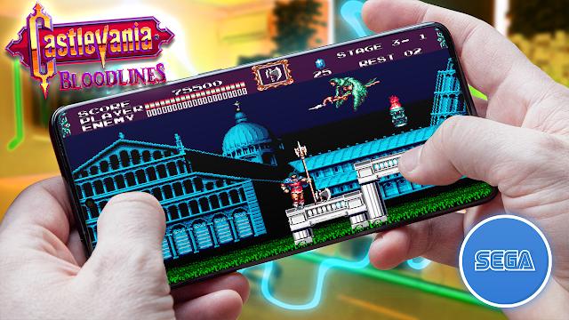 Castlevania: Bloodlines Para Teléfonos Android (ROM SEGA)