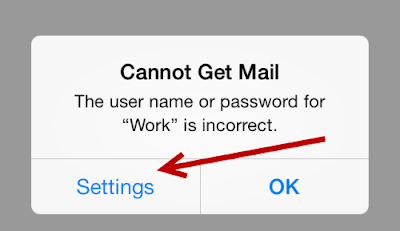 Iphone Gmail Login Error