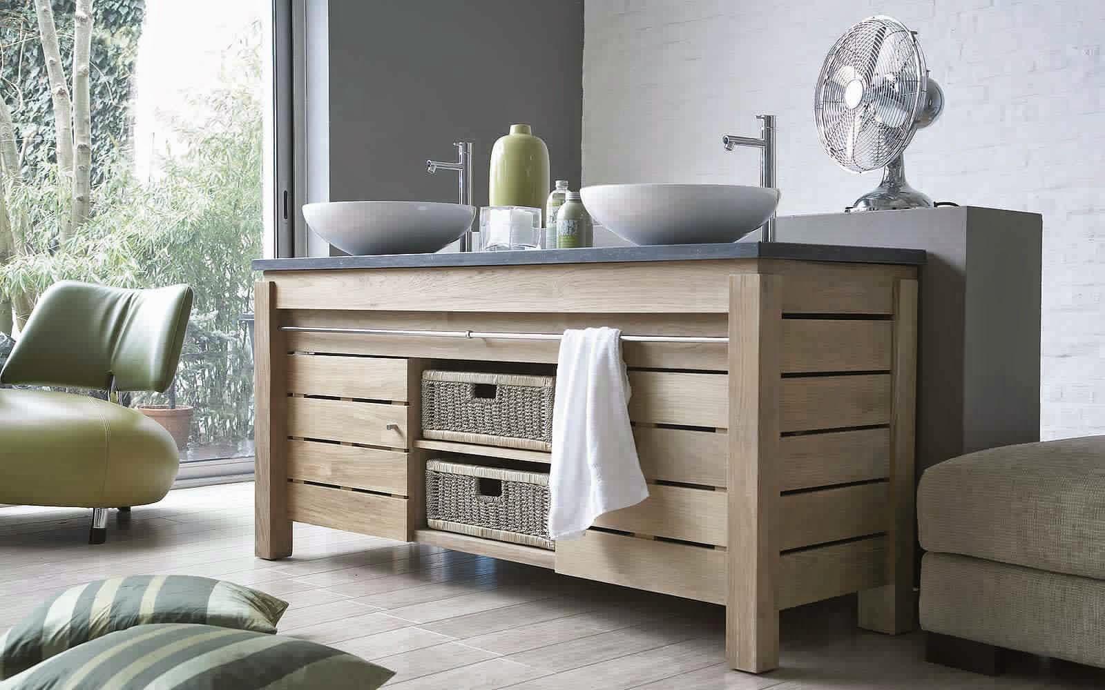 meuble de salle de bain en bois meuble d coration maison. Black Bedroom Furniture Sets. Home Design Ideas