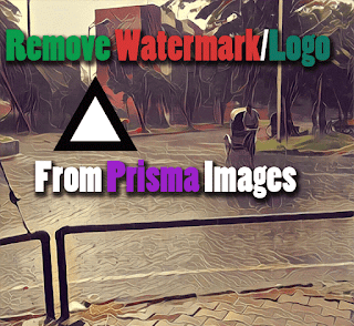 Remove watermark from prisma images