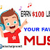 Get paid to listen to music with current app and bitradio