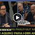 WALANG KWENTANG PAULIT-ULIT NA TANONG NI BAM AQUINO PARA I-DIIN ANG PNP!