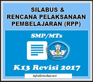 Capai Kompetensi Dasar dengan RPP SMP Kurikulum 2013 Revisi 2017 Matpel Pendidikan Agama Islam dan Budi Pekerti
