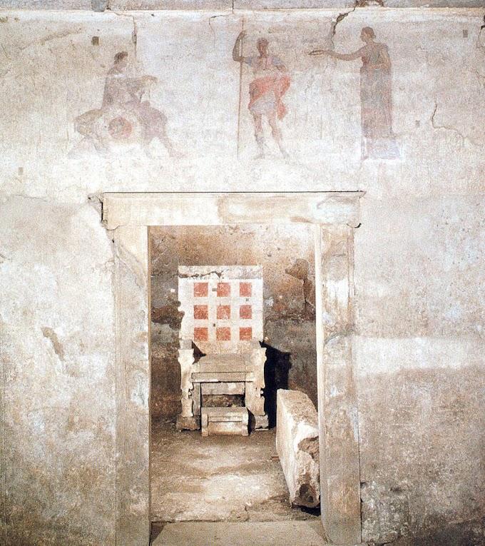 Εργα συντήρησης μακεδονικών τάφων