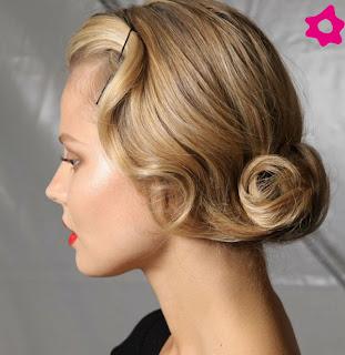 Vintage Wedding Frisuren Kurze Haare