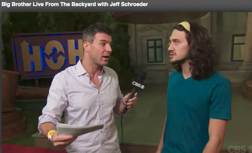 *: Big Brother Live From The Backyard with Jeff Schroeder