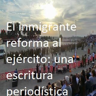 El inmigrante reforma al ejército