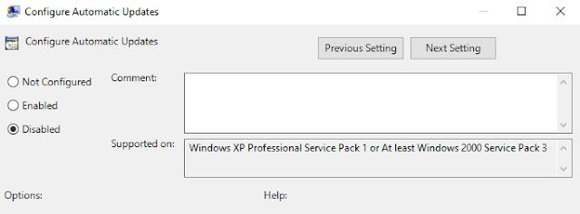 Cara Mematikan Update Otomatis Windows 10 Group Policy Editor