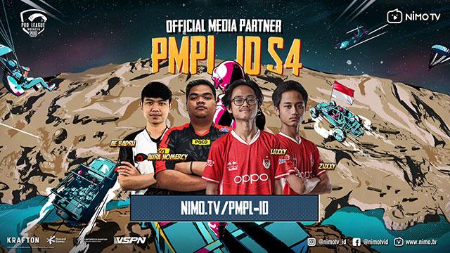 nimo tv pubg mobile pmpl id season 4