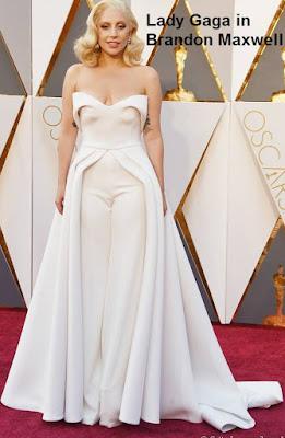 Lady%2BGaga%2Bin%2B%2BBrandon%2BMaxwell - Look Óscares 2016