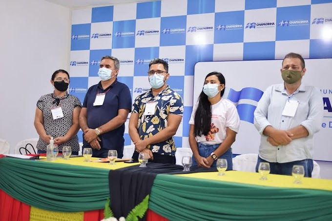 Prefeitura de Chapadinha realiza por meio meio da secretaria de  Igualdade Racial III   FÓRUM DA IGUALDADE RACIAL