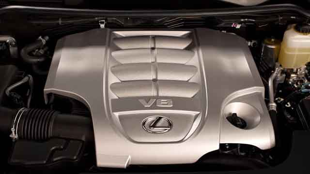 محركات لكزس LX 2021