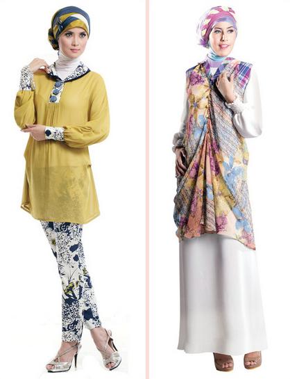 Busana Muslim Wanita Terbaru 2015
