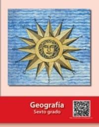 Libro de texto  Geografía Sexto grado 2020-2021