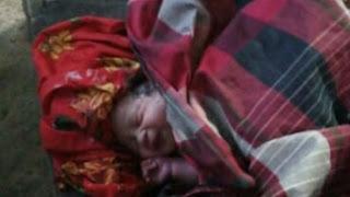 Bayi Perempuan Dibuang Diteras Rumah Warga