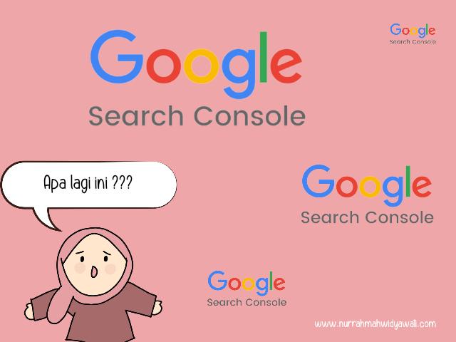 panduan memasang google search console