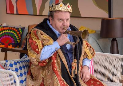 Jacquin se veste de rei no oitavo episódio. Crédito: Luccas Mattos/Vibra Studio